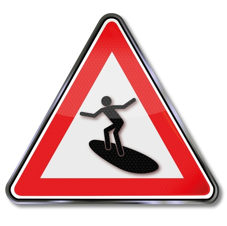 rounder: Sign surfer and surfing