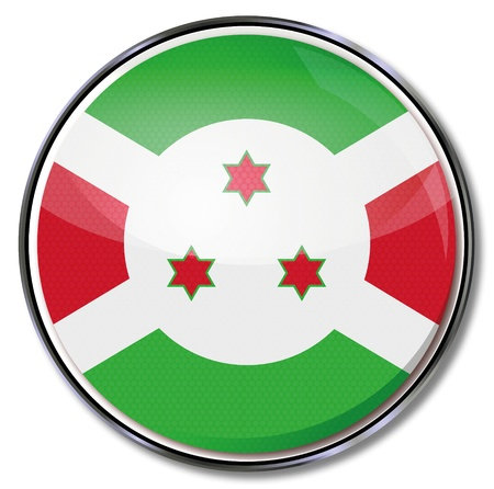 Button Burundi Vector
