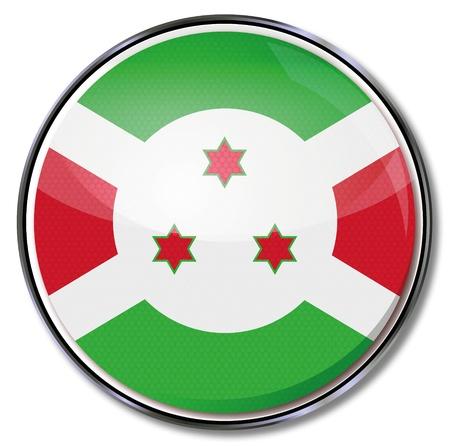 burundi: Button Burundi Illustration