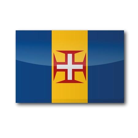 Flag Madeira Vector