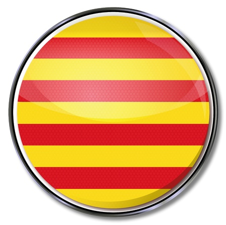 Botón de Cataluña