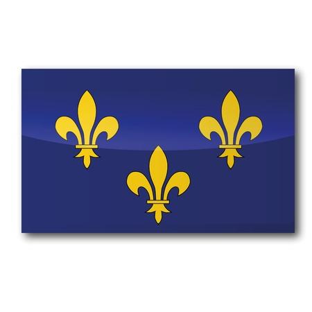 ile de france: Flag Ile-de-France