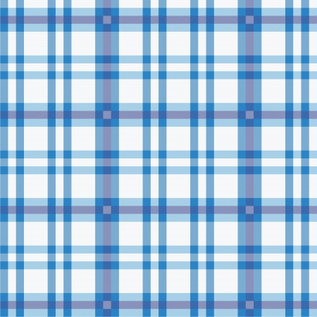 Tablecloth with blue pattern Vector
