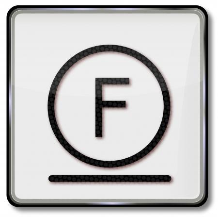 solvant: Symbole d'entretien textile soigneusement nettoy�e avec un solvant hydrocarbon�