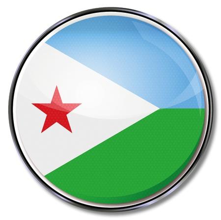 djibouti: Button Djibouti