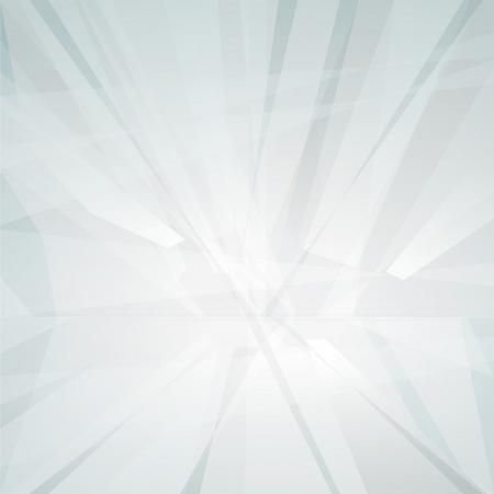 White areas with horizon Illustration