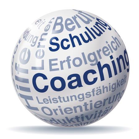 coaching: boule de Coaching Illustration