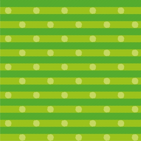 Green fabric with dots Stock Vector - 22374754