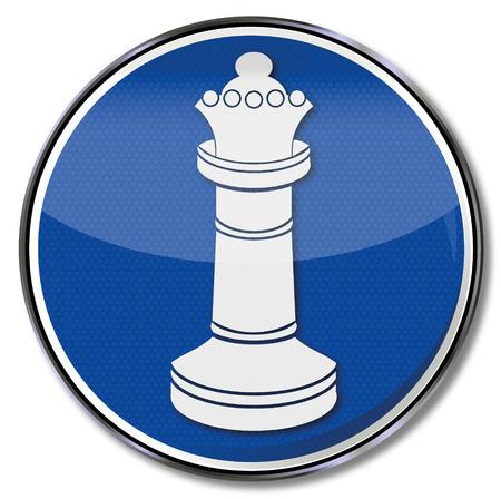 Chess Queen Vector