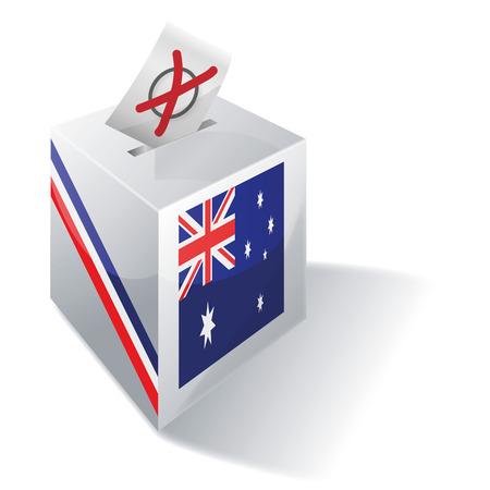 absentee: Ballot box Australia