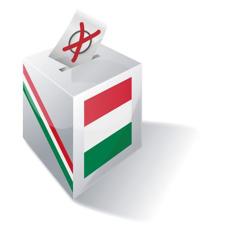 local election: Ballot box Hungary