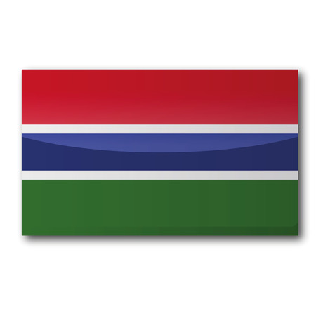 gambia: Flag Gambia