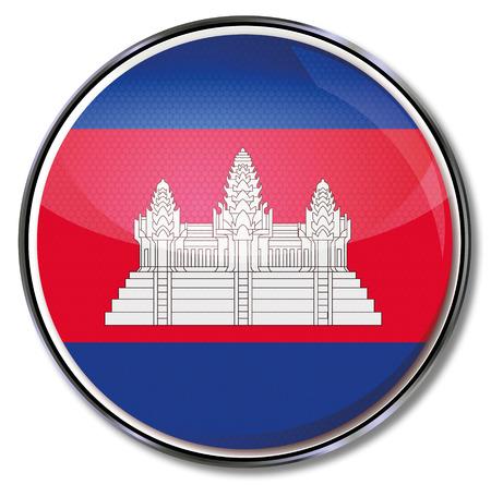Button Cambodia Vector