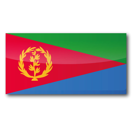 voting rights: Flag Eritrea