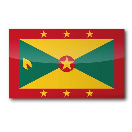 grenada: Flag Grenada