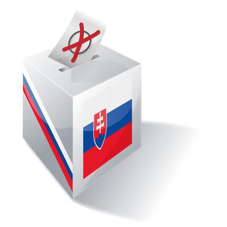 ballot box: Ballot box Slovakia