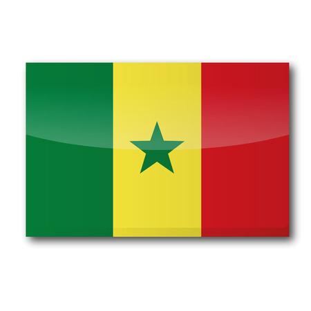 moist: Flag Senegal