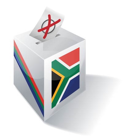 Ballot box South Africa