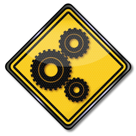 Sign gears and power transmission Vector