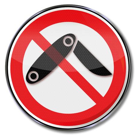 dictature: Interdiction signer aucun couteau pliant