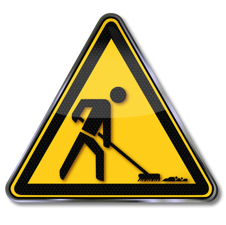 broom: Sign cleaning power and housekeeper