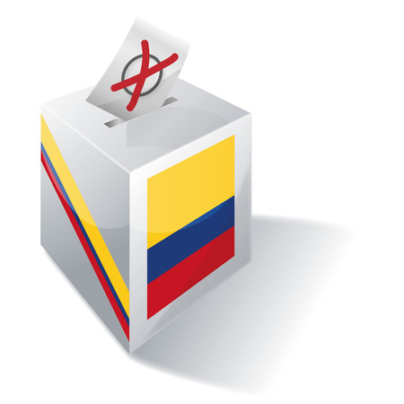 registered mail: Ballot box Colombia
