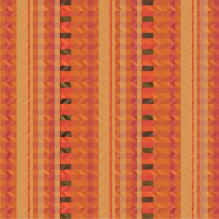 Fabric with brown pinstripes Vector