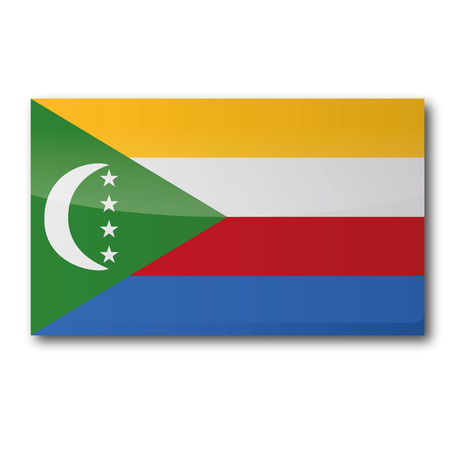 comoros: Flag Comoros