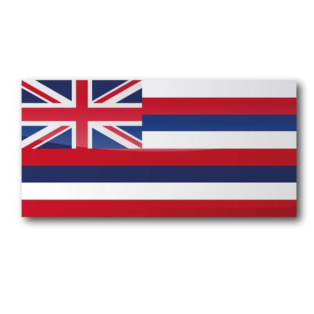 Flag Hawaii Vector