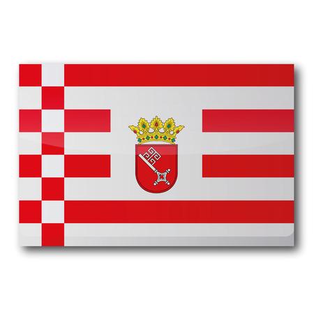 bremen: Flag Bremen