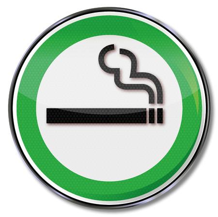 cosiness: Green shield smoking allowed