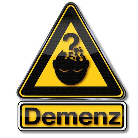 spirit level: Sign dementia