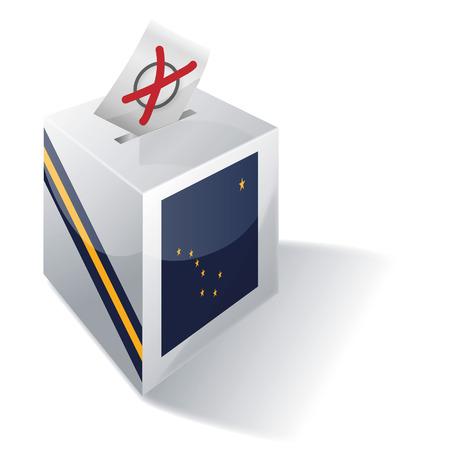 ballot box: Ballot box Alaska