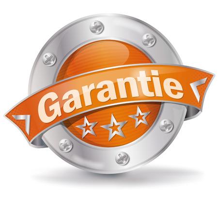 special service: Button guarantee Illustration