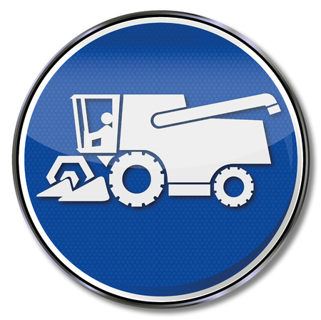 harvester: Sign combine harvesters and forage harvester