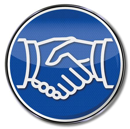 community recognition: Sign handshake