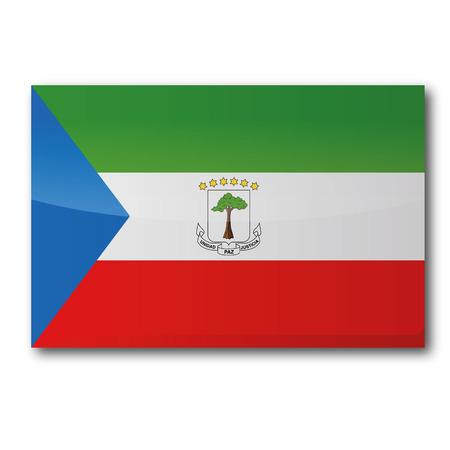 guinea equatoriale: Bandiera Guinea Equatoriale