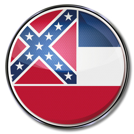 Button Mississippi Vector