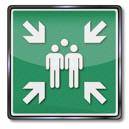 místo: Požární bezpečnost montáž znamení bod