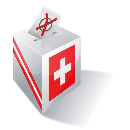 german swiss: Ballot box Switzerland