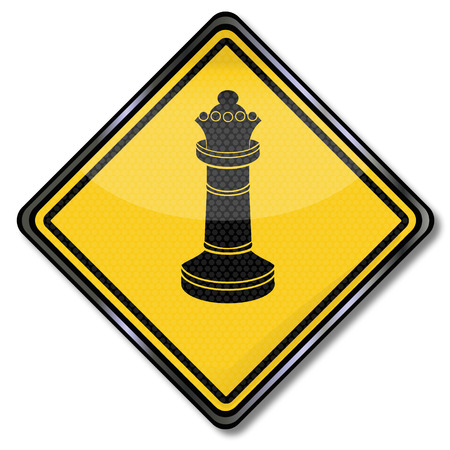 lookout: Chess queen, pawn lady and grandeur