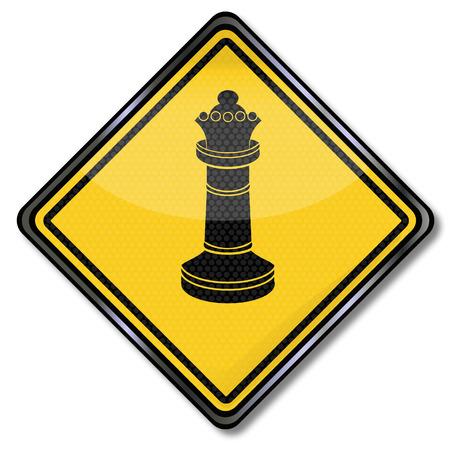 grandeur: Chess queen, pawn lady and grandeur