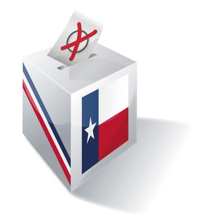 absentee: Ballot box Texas