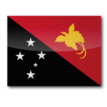 motu: Flag Papua New Guinea Illustration