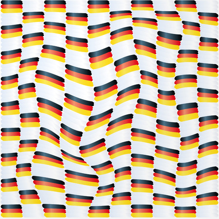 Fabric with germany flag pattern Stock Vector - 26170161