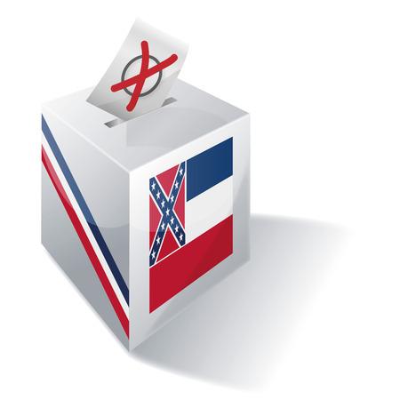 Ballot box Mississippi