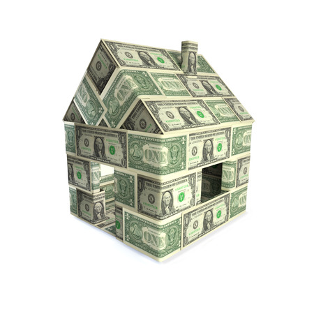 House with dollars photo