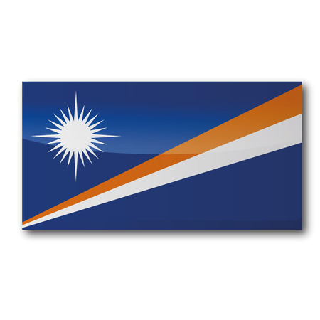 marshall: Flag Marshall Islands