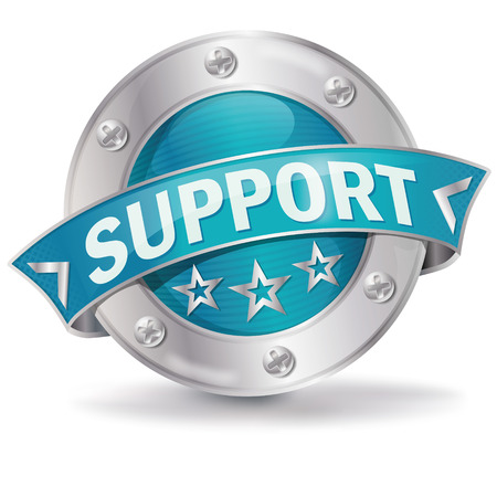 silver service: Button support