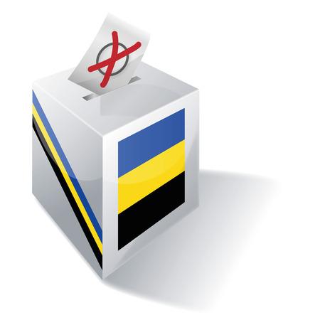 absentee voting: Ballot box Gelderland